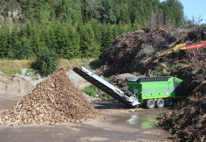 Targo 3000 - Kverning røtter og grønt avfall