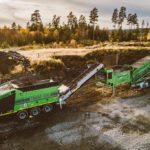 Targo 3000 grovkvern og SuperScreener 2F stjernesikt i tog