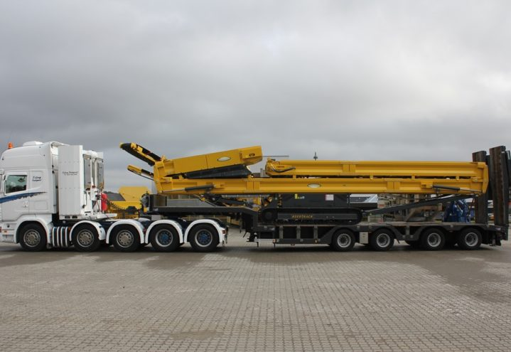 Keestrack Stacker230 - Transport
