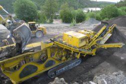 Knusing av asfalt