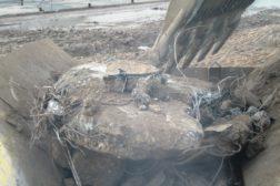 Knusing av betong