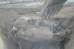 Krossa av betong