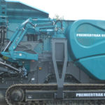 MCM3000 Hydraulikk hammerbom på Powerscreen600 kjefteknuser