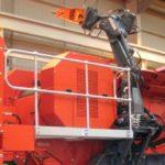 MCM3000 Hydraulikk hammerbom på Terex Finlay J-1175 kjefteknuser