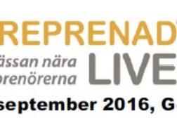 Entreprenad Live 2016