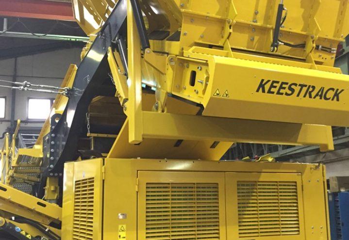 Keestrack Giant - En voksen maskin