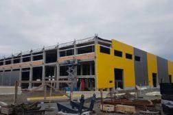 Ny verksted hall til Keestrack står snart ferdig