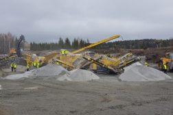 Fredheim Maskin viser 1500 tonn maskiner