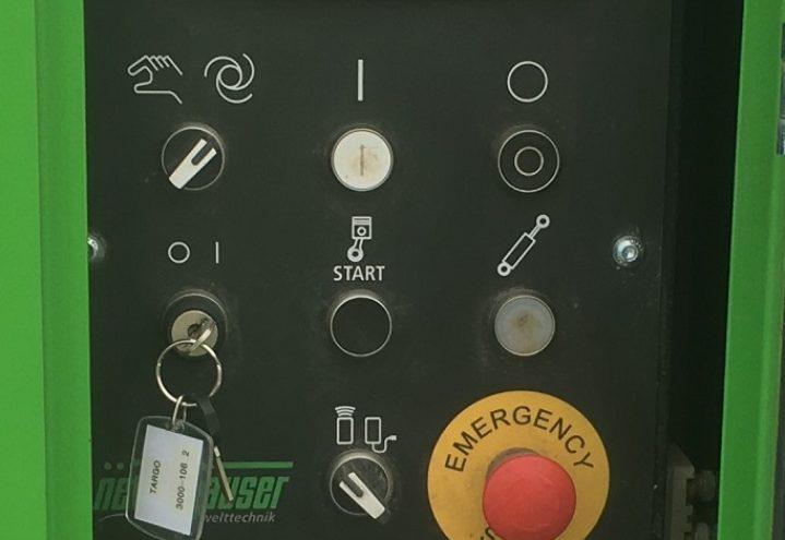 Targo 3000 - enkelt betjening