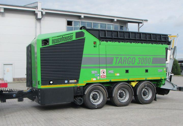 Targo 3000 - lett flyttet
