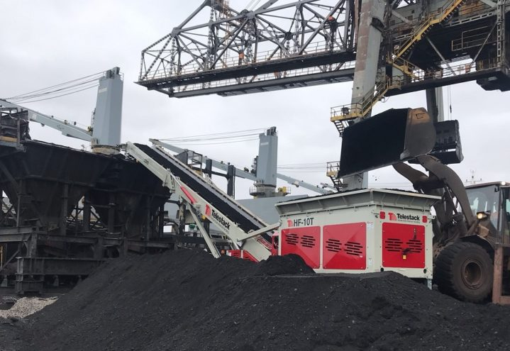 HF 10T Reclaiming Coal