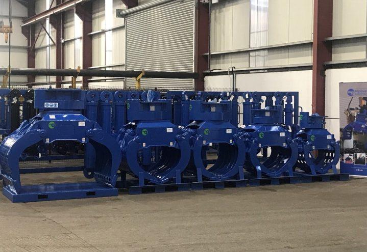 McQuaid - hydraulisk roterende sorteringsklype