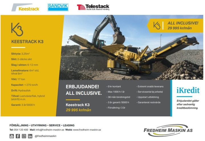 K3 all inclusive - kampanje Sverige